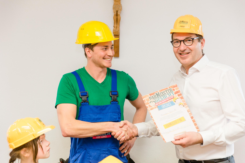 Wenn ich groß bin werde ich Baumeisterin. © BBIV/Schwaiger