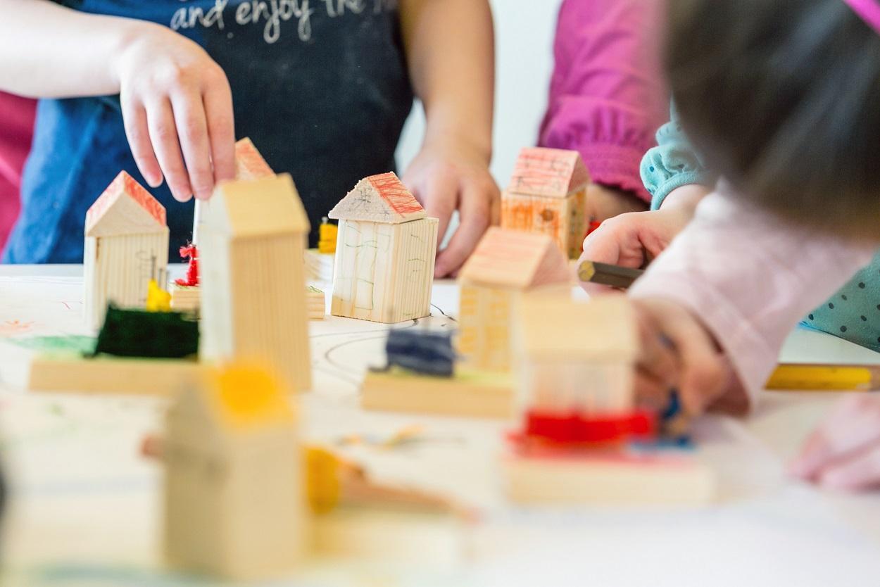Das Werkeln hat sich gelohnt- die Stadt der kleinen Baumeister © BBIV Schwaiger 2016
